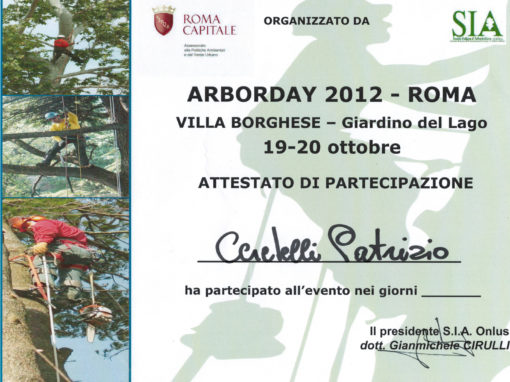 ArborDay 2012 Roma – Patrizio Ceretelli