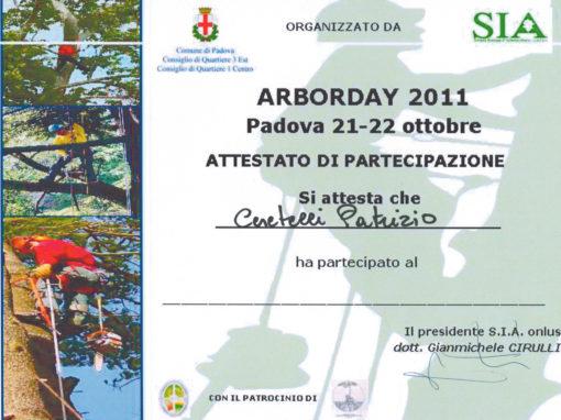 Arborday 2011 Padova – Patrizio Ceretelli