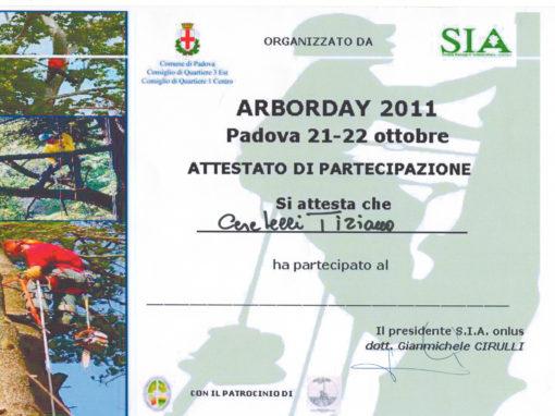 Arborday 2011 Padova – Tiziano Ceretelli
