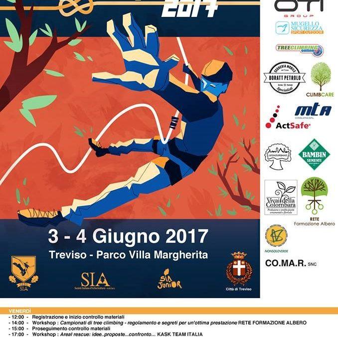 Campionati Italiani di Tree Climbing 2017